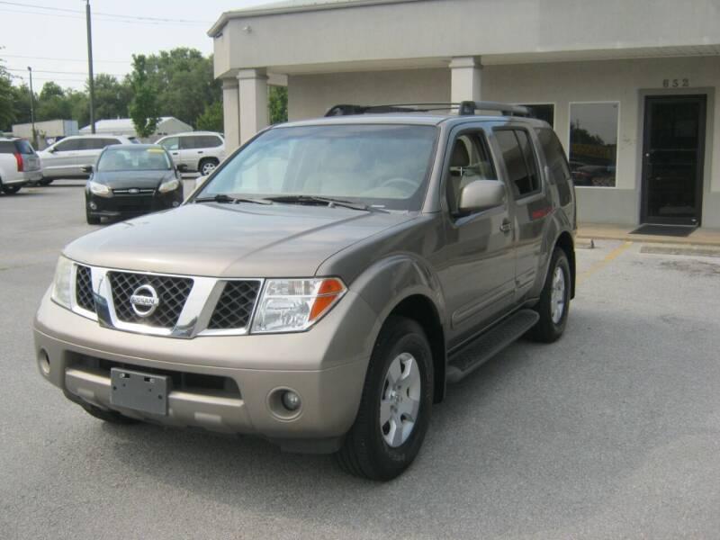 2007 Nissan Pathfinder for sale at Premier Motor Co in Springdale AR