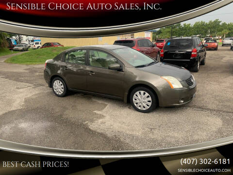 2009 Nissan Sentra for sale at Sensible Choice Auto Sales, Inc. in Longwood FL