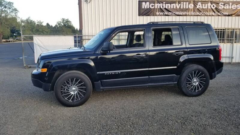 2016 Jeep Patriot for sale at McMinnville Auto Sales LLC in Mcminnville OR