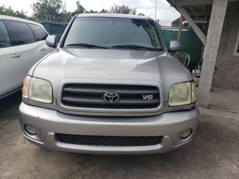 2003 Toyota Sequoia for sale at Track One Auto Sales in Orlando FL