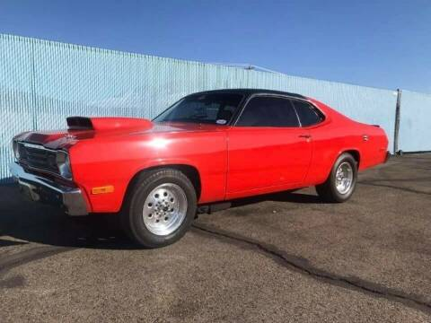 1974 Plymouth Duster for sale at Classic Car Deals in Cadillac MI