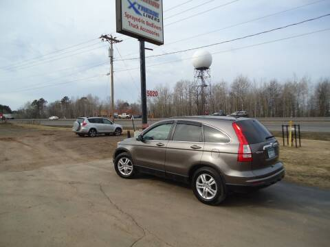 2010 Honda CR-V for sale at Xtreme Auto Inc. in Hermantown MN