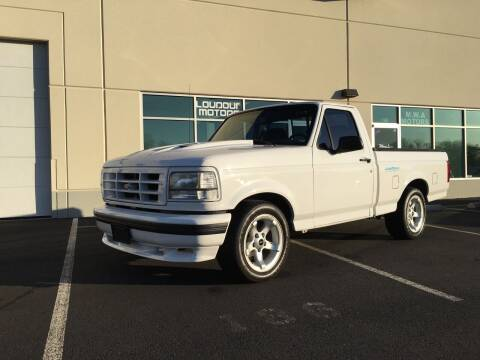 1994 Ford F-150 SVT Lightning for sale at Loudoun Motors in Sterling VA