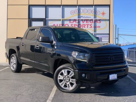 2014 Toyota Tundra for sale at Las Vegas Auto Sports in Las Vegas NV