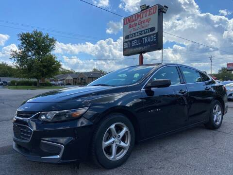 2016 Chevrolet Malibu for sale at Unlimited Auto Group in West Chester OH