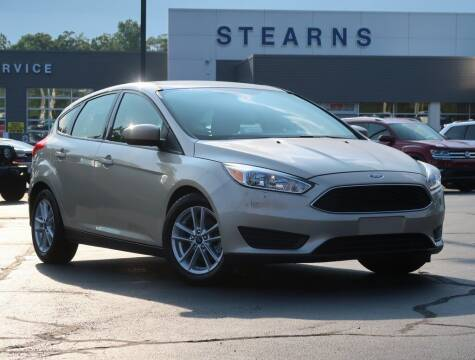2018 Ford Focus for sale at Stearns Ford in Burlington NC