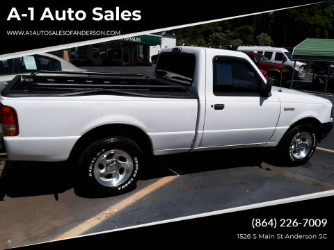1997 Ford Ranger for sale at A-1 Auto Sales in Anderson SC
