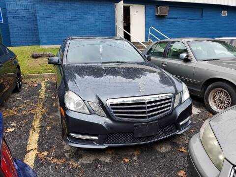 2013 Mercedes-Benz E-Class for sale at Moreland Motorsports in Conley GA