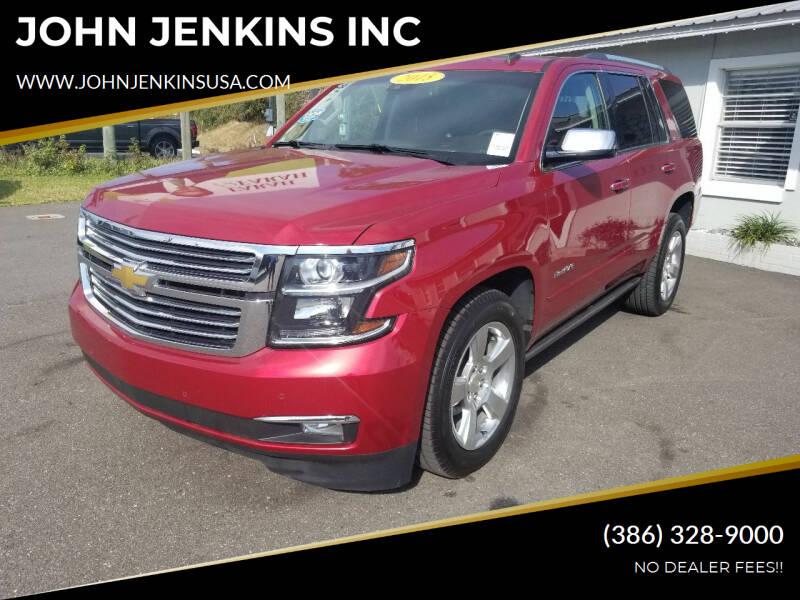 2015 Chevrolet Tahoe for sale at JOHN JENKINS INC in Palatka FL