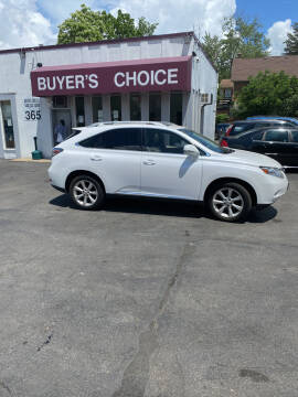 2010 Lexus RX 350 for sale at Buyers Choice Auto Sales in Bedford OH