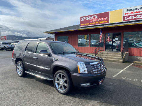 2010 Cadillac Escalade for sale at Pro Motors in Roseburg OR