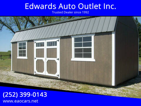 2021 xx Old Hickory Building 12x24 Lofted Barn for sale at Edwards Auto Outlet Inc. in Wilson NC