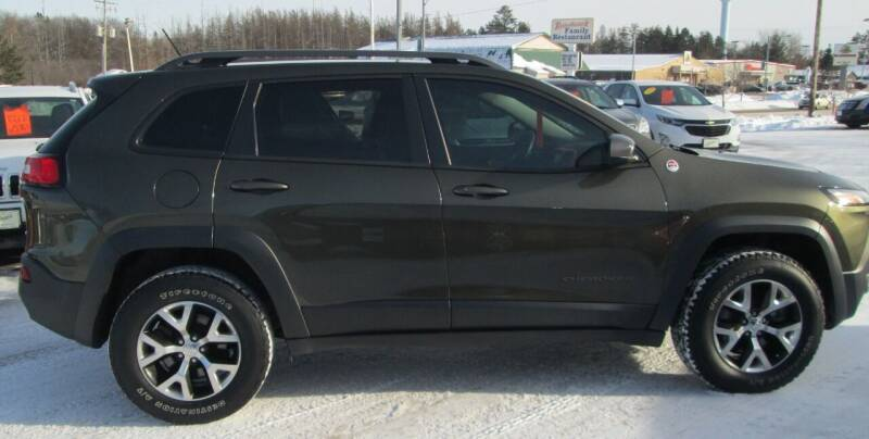 2015 Jeep Cherokee for sale at The AUTOHAUS LLC in Tomahawk WI