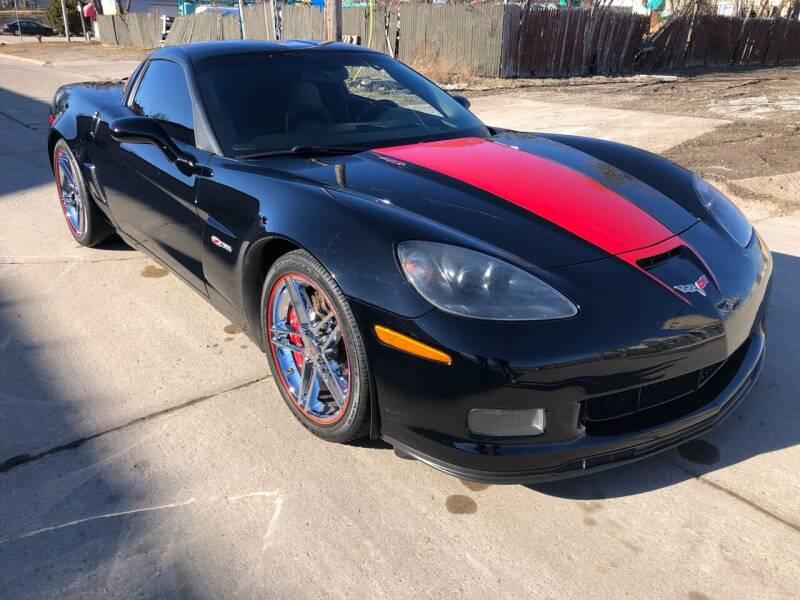 2006 Chevrolet Corvette for sale at Adrenaline Motorsports Inc. in Saginaw MI
