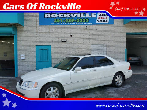 2002 Acura RL for sale at Cars Of Rockville in Rockville MD