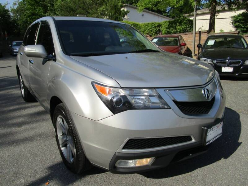 2013 Acura MDX for sale at Direct Auto Access in Germantown MD