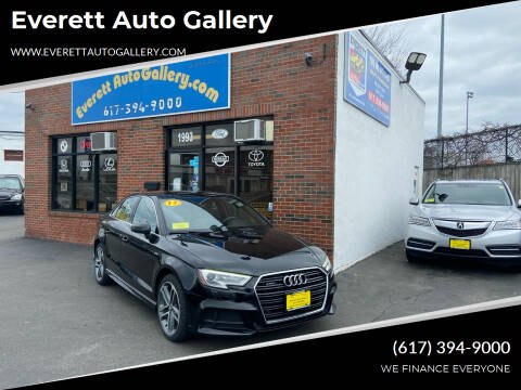 2017 Audi A3 for sale at Everett Auto Gallery in Everett MA