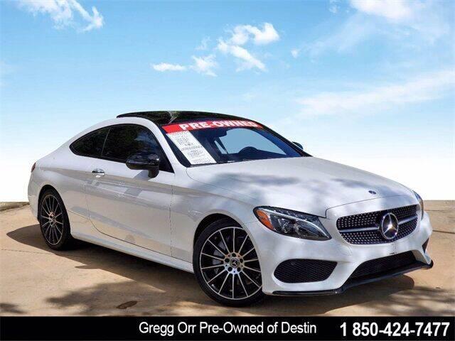 2018 Mercedes-Benz C-Class for sale at Gregg Orr Pre-Owned of Destin in Destin FL