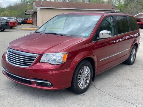 2013 Chrysler Town and Country for sale at Elite Motors in Uniontown PA