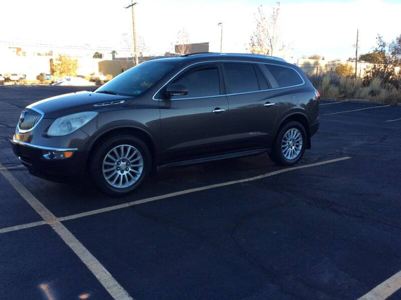 2012 Buick Enclave for sale at AROUND THE WORLD AUTO SALES in Denver CO