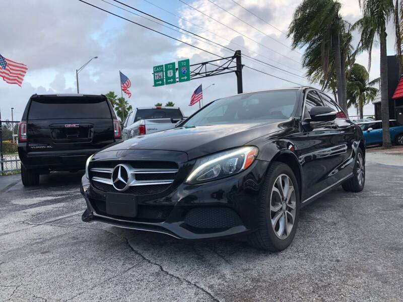 2015 Mercedes-Benz C-Class for sale at Gtr Motors in Fort Lauderdale FL