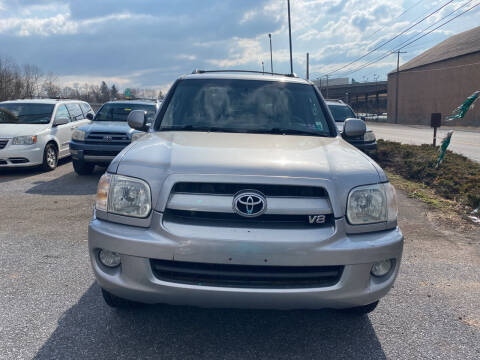 2007 Toyota Sequoia for sale at YASSE'S AUTO SALES in Steelton PA