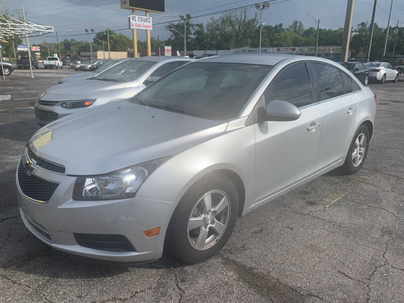 2012 Chevrolet Cruze for sale at Castle Used Cars in Jacksonville FL