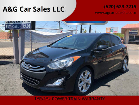 2013 Hyundai Elantra GT for sale at A&G Car Sales  LLC in Tucson AZ