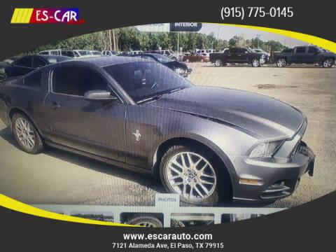 2014 Ford Mustang for sale at Escar Auto in El Paso TX