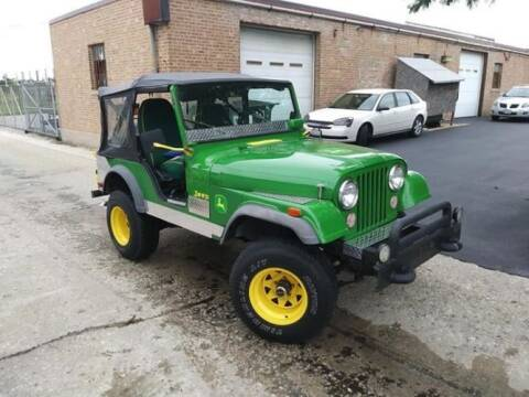 1973 Jeep CJ-5 for sale at Haggle Me Classics in Hobart IN