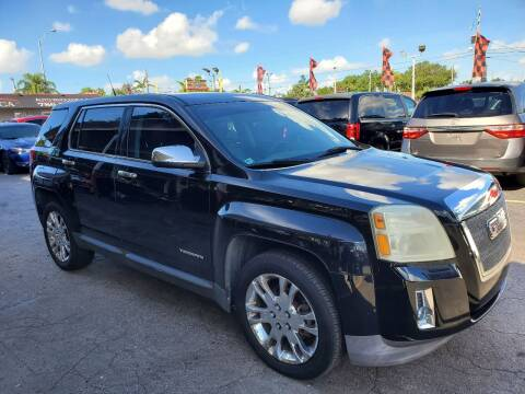 2010 GMC Terrain for sale at America Auto Wholesale Inc in Miami FL