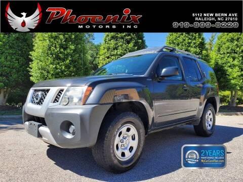 2014 Nissan Xterra for sale at Phoenix Motors Inc in Raleigh NC