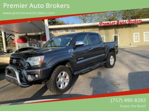 2014 Toyota Tacoma for sale at Premier Auto Brokers in Virginia Beach VA