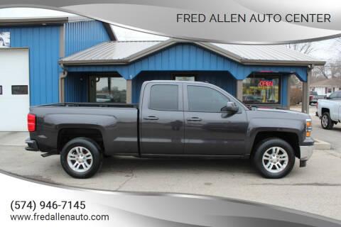 2015 Chevrolet Silverado 1500 for sale at Fred Allen Auto Center in Winamac IN