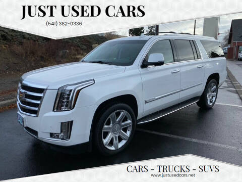 2016 Cadillac Escalade ESV for sale at Just Used Cars in Bend OR