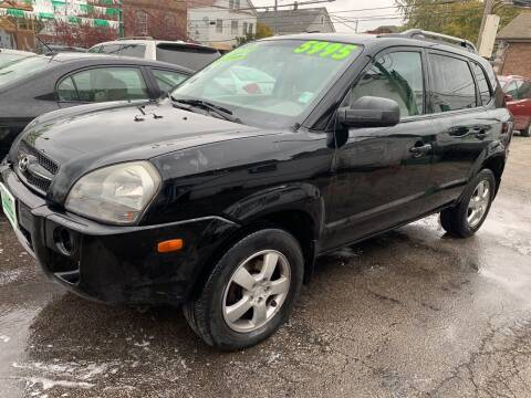 2008 Hyundai Tucson for sale at Barnes Auto Group in Chicago IL