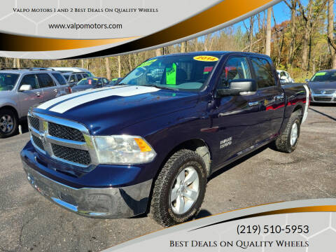 2014 RAM Ram Pickup 1500 for sale at Valpo Motors 1 and 2  Best Deals On Quality Wheels in Valparaiso IN