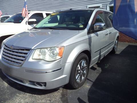 2008 Chrysler Town and Country for sale at H and H Truck Center in Newport News VA