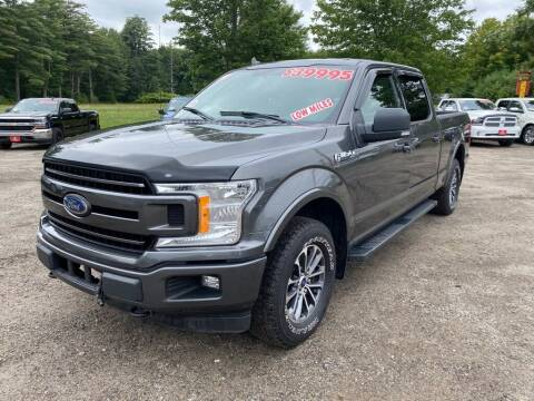 2018 Ford F-150 for sale at AutoMile Motors in Saco ME