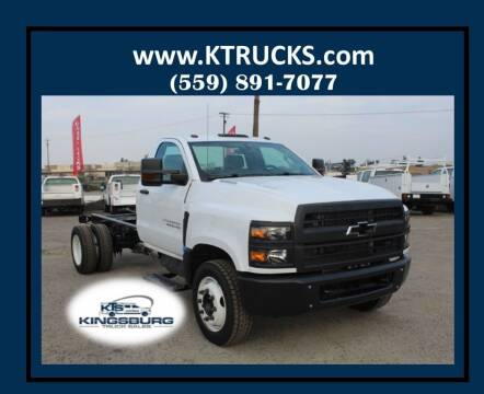 2019 Chevrolet Silverado 6500HD for sale at Kingsburg Truck Center in Kingsburg CA