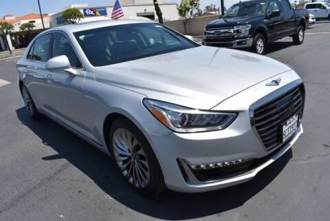2018 Genesis G90 for sale at DIAMOND VALLEY HONDA in Hemet CA