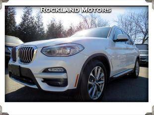 2018 BMW X3 for sale at Rockland Automall - Rockland Motors in West Nyack NY