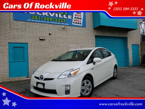 2011 Toyota Prius for sale at Cars Of Rockville in Rockville MD