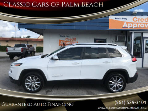 2018 Jeep Cherokee for sale at Classic Cars of Palm Beach in Jupiter FL
