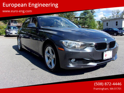 2013 BMW 3 Series for sale at European Engineering in Framingham MA