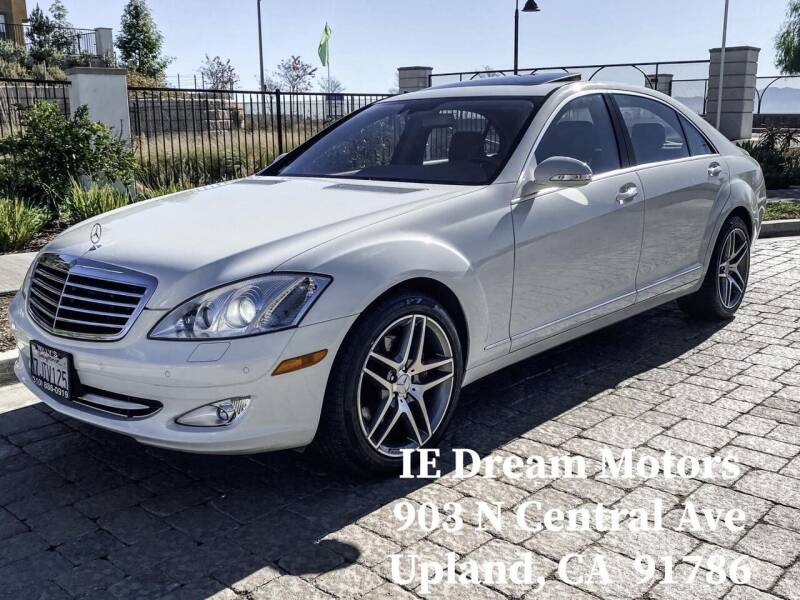 2008 Mercedes-Benz S-Class for sale at IE Dream Motors-Upland in Upland CA