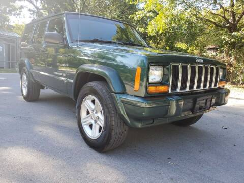 2001 Jeep Cherokee for sale at Thornhill Motor Company in Lake Worth TX