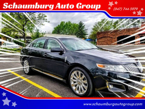 2010 Lincoln MKS for sale at Schaumburg Auto Group in Schaumburg IL