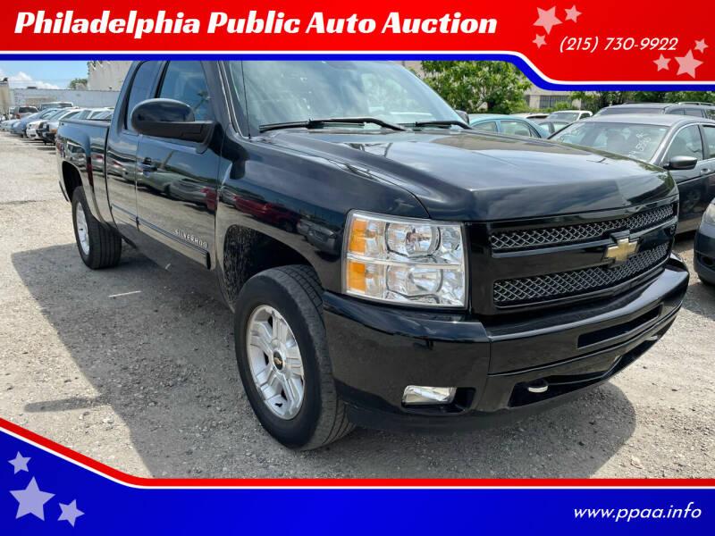2011 Chevrolet Silverado 1500 for sale at Philadelphia Public Auto Auction in Philadelphia PA