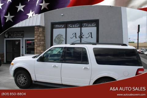 2012 Ford Expedition EL for sale at A&A Auto Sales in Orem UT